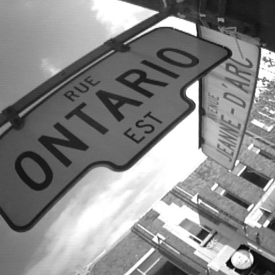 Video - Rue Ontario Est