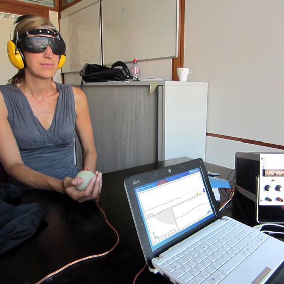 haptic neurofeedback pilot study